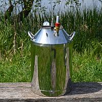 Автоклав огневой с нержавейки N - 30 банок (Мега)