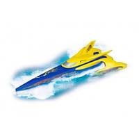 Гоночная скоростная лодка на батарейках. Dickie group сине-желтая