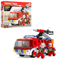 Конструктор  Ausini Toys артикул. 21503 пожарная машина