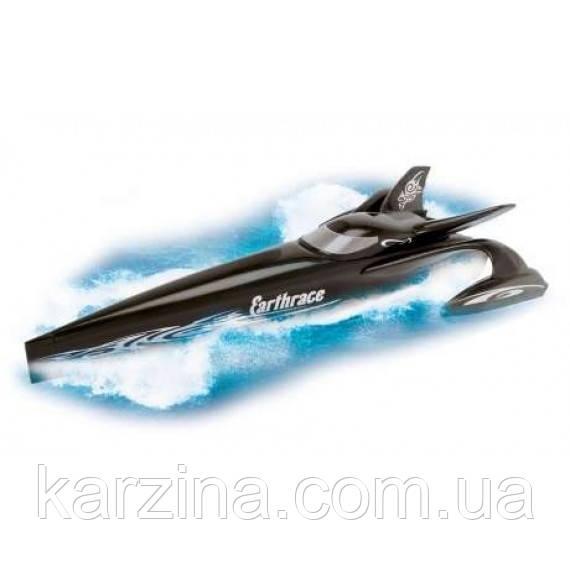 Гоночная скоростная лодка на батарейках. Dickie group черная