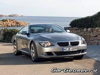 Лобовое стекло BMW 6 SERIES E63,Бмв (2004-2010)AGC