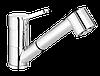 PERO PLUS, смеситель для мойки с вытяжной лейкой.,