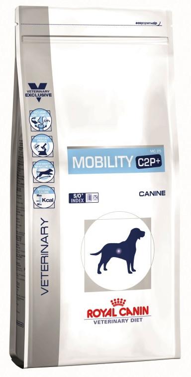 Лечебный корм для собак Royal Canin Mobility C2P+ Dog MS25