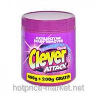 Пятновыводитель Clever Attack 600 гр
