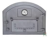 Дверка для хлебной печи c термометром (61х48 см/53,5х41 см)