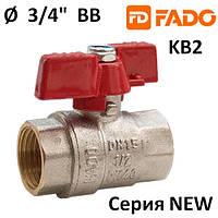 Кран шар. FADO New PN40 20 3/4'' ВВ
