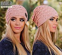 Зимняя женская шапка л-720