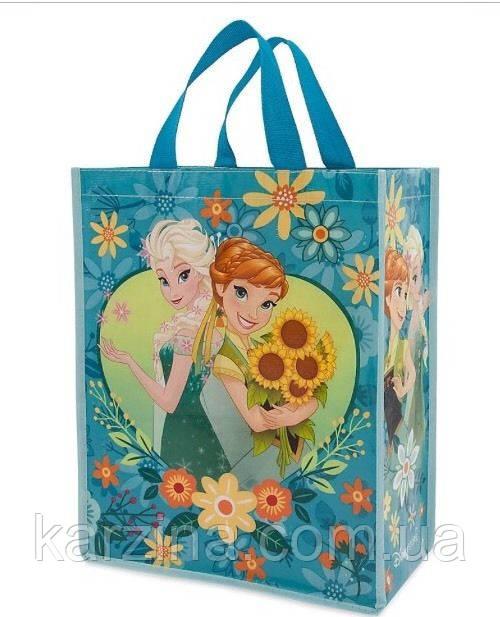 Подарочный пакет Frozen Anna and Elsa Disney, Анна и Эльза. холодное сердце