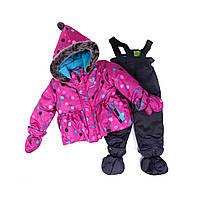 Зимний костюм для девочки PELUCHE 32 BF M F16 Paradisio. Размеры 75 - 98.
