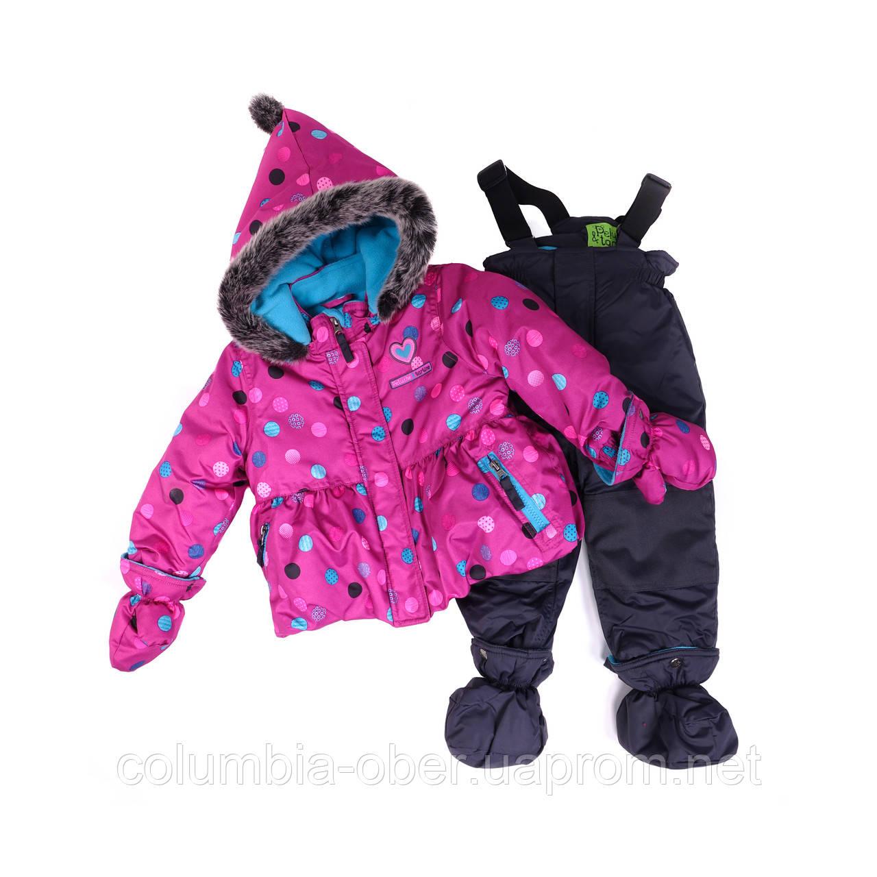 Зимний костюм для девочки PELUCHE 32 BF M F16 Paradisio. Размеры 82 - 97.