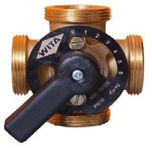 Четырёхходовой смесительный вентиль Hel-Wita Minimix Ø1 1/2