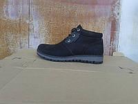 Кожаные зимние мужские ботинки Gore-Tex