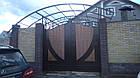 Ворота жатые металлические Руно , фото 2