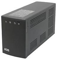 ИБП PowerCom BNT-1000AP Black, 1000VA, 600W, линейно-интерактивный, AVR, 5 розеток, защита RJ45