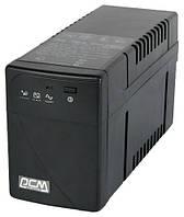 ИБП PowerCom BNT-800A Schuko Black, 800VA, 480W, линейно-интерактивный, AVR, 1 розетка (Schuko)