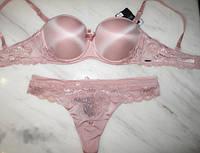 Комплект женского нижнего белья с эффектом пуш ап Balaloum 9347