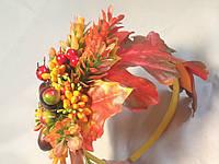 Ободок, повязка для волос Осень