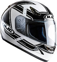 "Шлем HJC CS14 Lola MC10 black\white ""L"", арт. 109910"