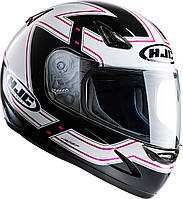 "Шлем HJC CS14 Lola MC31 black\white\red ""L"", арт. 109931"