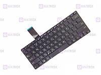 Оригинальная клавиатура для ноутбука Asus VivoBook S300, S300C, S300CA, S300K, S300KI series, black, ru