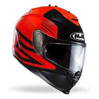 Шлем HJC IS17 Genesis MC6 черно-красный, L