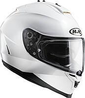 Шлем HJC IS17 белый глянец, L, фото 1