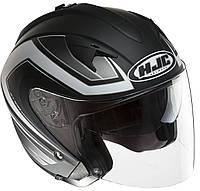 "Шлем HJC IS33 COMBI MC5F black\white ""L"", арт. 116405"