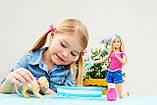 Лялька Барбі веселе купання цуценя DGY83, фото 4