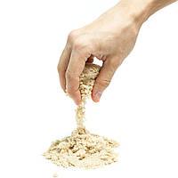 Кинетический песок Supergum Бежевый  для творчества 1000 гр + Формочки Украина