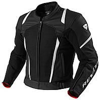 "Куртка REV'IT GALACTIC текстиль\кожа black\white ""52"", арт. FJL055 1600"