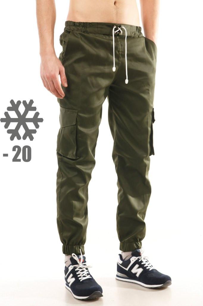 44ee3f69e830 Утепленные штаны карго Ястребь, олива, цена 549 грн., купить в ...