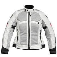 """Куртка REV'IT TORNADO LADIES текстиль silver\black """"36"""", арт. FJT117 4050"""