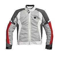 "Куртка REV'IT AIRWAVE  текстиль silver\red ""XL"", арт. FJT126 4020"