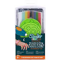 Набор аксессуаров для 3D-ручки ЮВЕЛИР 3Doodler Start - 48 стержней, 2 шаблона (3DS-DBK-JW)