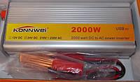 Преобразователь напряжения konnwei 2000 w 24-220