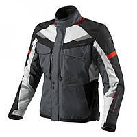 """Куртка REV'IT SAFARI текстиль silver\red """"XL"""", арт. FJT159 4020"""