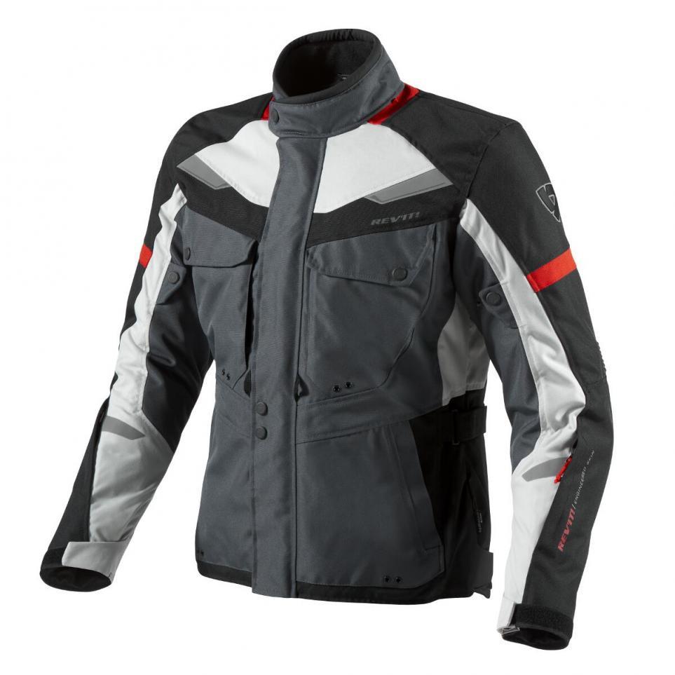 """Куртка REV'IT SAFARI текстиль silver\red """"XXL"""", арт. FJT159 4020"""
