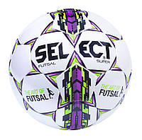 Футзальный мяч SELECT Futsal Super (ORIGINAL, FIFA APPROVED) Белый