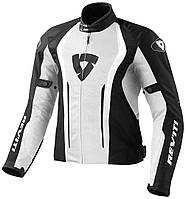 "Куртка REV'IT AIRFORCE текстиль white/black ""XL"", арт. FJT188 3050"