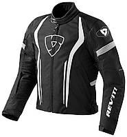 """Куртка REV'IT RACEWAY текстиль black\white """"XXL"""", арт. FJT190 1600"""