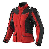 Куртка REV-IT VOLTIAC LADIES текстиль black\red -36-