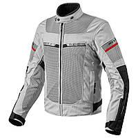 Куртка REVIT TORNADO 2 текстиль silver\black  XXL арт. FJT205 4050