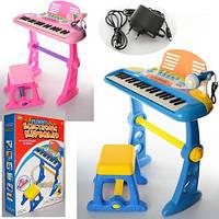 Синтезатор-пианино Bambi BO-21A со стульчиком
