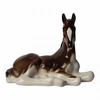 Скульптура Жеребенок, лежащий  И.Ф.З. 01030
