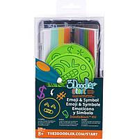 Набор аксессуаров для 3D-ручки ЭМОДЖИ 3Doodler Start - 48 стержней, 2 шаблона (3DS-DBK-SY)