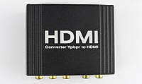 YPbPr To HDMI Converter YUV/YPbPr/YCbCRr+SPDIF(Optical+Coax) Input Signal,One HDMI Output