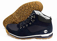 Мужские зимние ботинки в стиле Timberland синий, фото 1