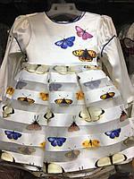 Платье  на девочку  в бабочки TALKA. ПОЛЬША