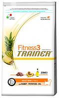 Корм для мини-собак Trainer Fitness3 Adult Mini Rabbit, Potatoes & Oil