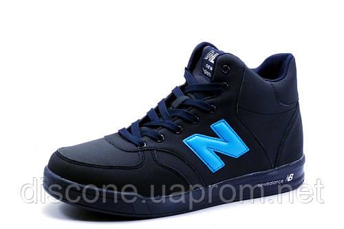 Ботинки зимние New Balance, на меху, темно-синие